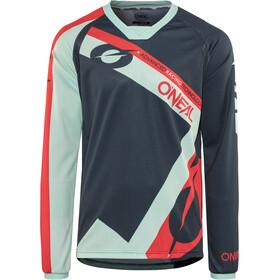 ONeal Element FR Koszulka kolarska, długi rękaw Mężczyźni czerwony/niebieski